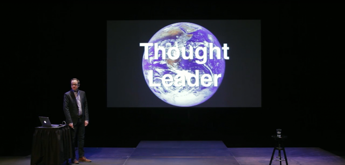 Thought leader screen shot