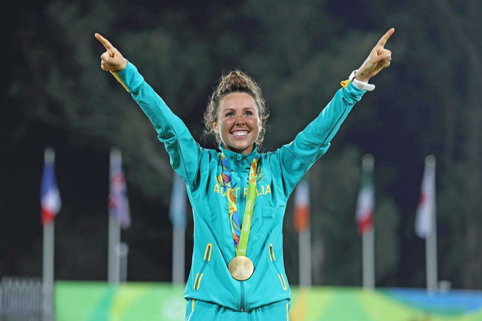 Australian gold medalist Chloe Esposito Credit: Getty Images